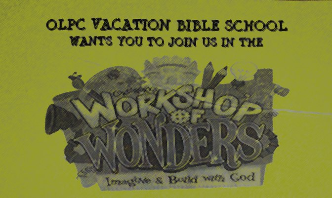 Vacation Bible School 2014!