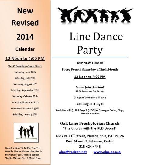 Line Dance Party 2014