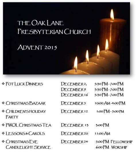 Advent 2015 Calendar