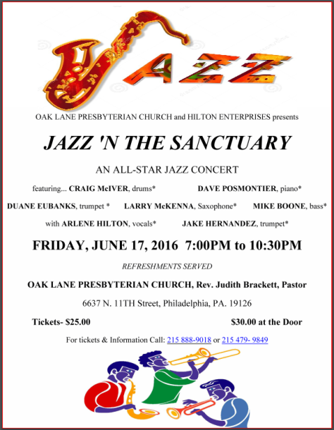 Jazz 'n the Sanctuary