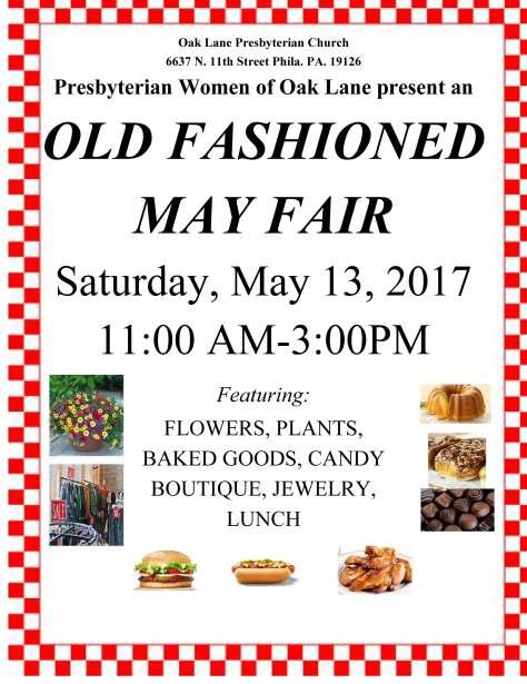 May Fair 2017