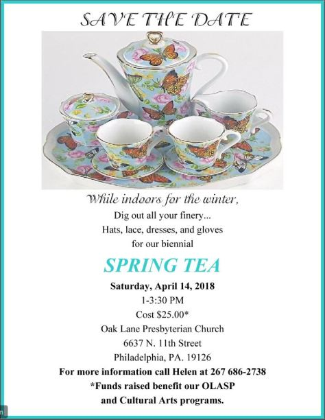 OLPC Spring Tea 2018