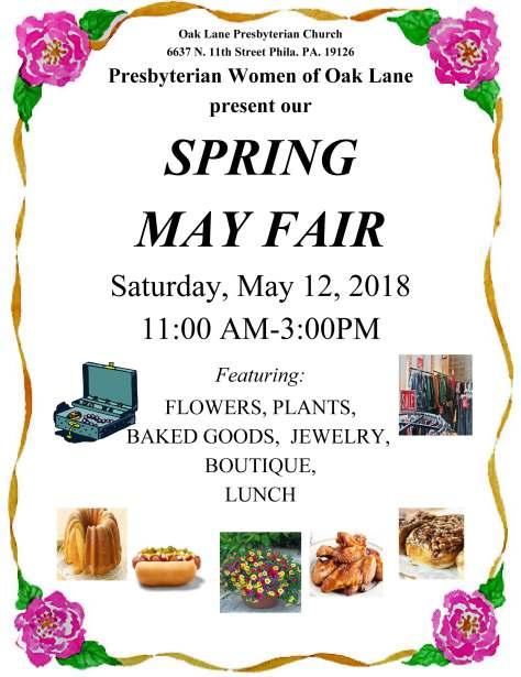May Fair 2018