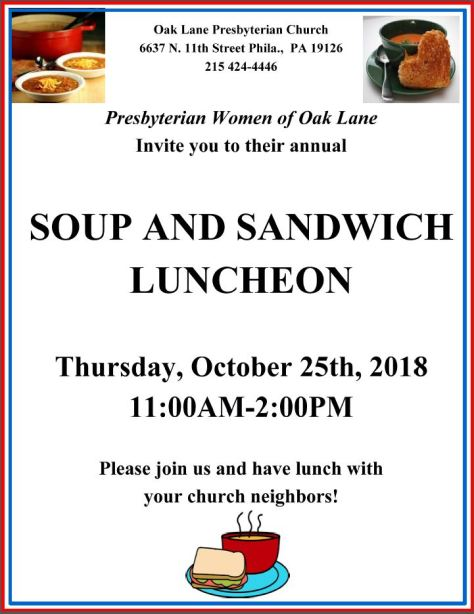 Soup Sandwich 2018