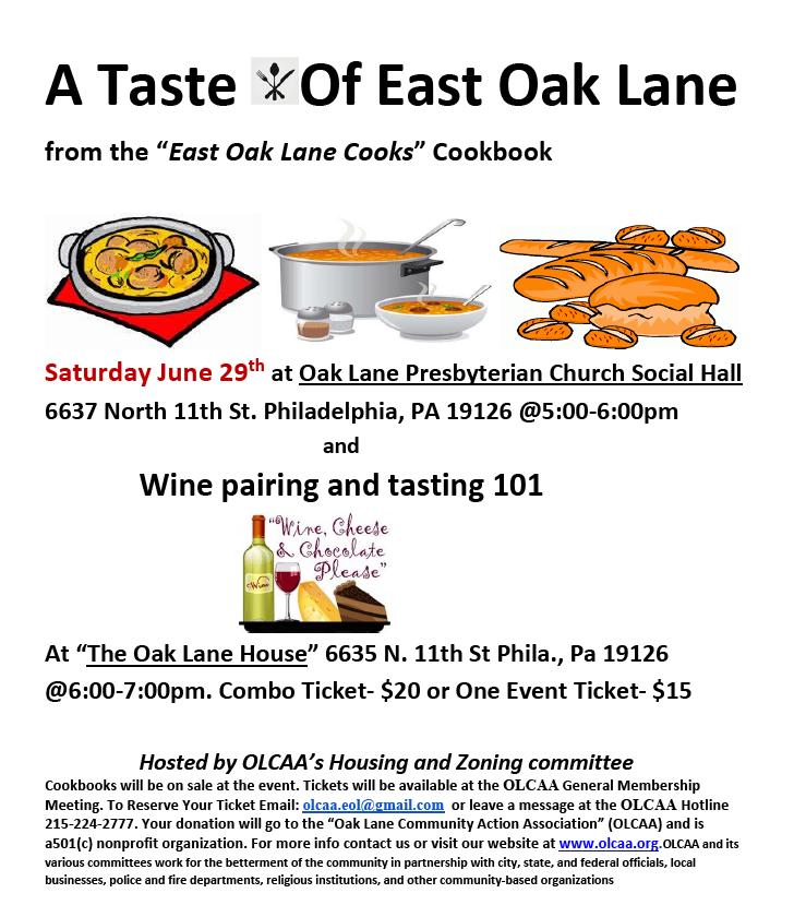 A Taste of East Oak Lane