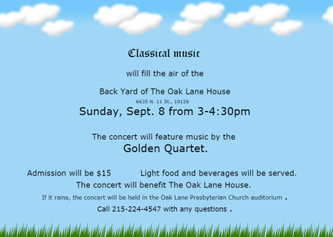 Classical Concert at OLH - 9-8-2019