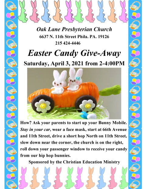 Easter Candy Give-Away 2021